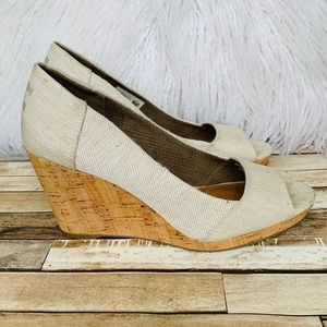 TOMS | Lovely Wedge Heels Neutral Color